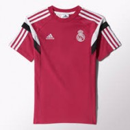 CAMISETA ALG.NIÑO OF.REAL MADRID FUCSIA