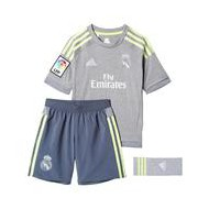 PACK OF. REAL MADRID 2ª EQUIPACION GRIS