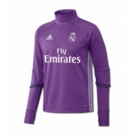 SUDADERA OF. ENTRENO REAL MADRID NIÑO 16-17