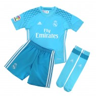 PACK JUEGO OF. REAL MADRID PORTERO NIÑO 16-17