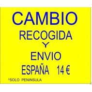 PAGO CAMBIO RECOGIDA ENVIO ESPAÑA TRANSPORTES