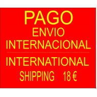 PAGO ENVIO INTERNACIONAL INTERNATIONAL SHIPPING