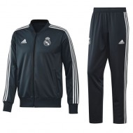 CHANDAL DE PASEO OFICIAL REAL MADRID NIÑO PES SUIT 18-19