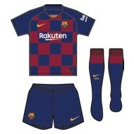 PACK OFICIAL FC.BARCELONA 19/20 (3 - 36 MESES)