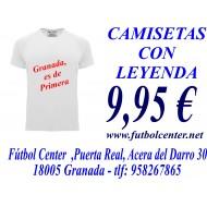 CAMISETA CON LEYENDA
