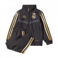 CHANDAL DE PASEO OFICIAL REAL MADRID PRE SUIT BEBE 17-18