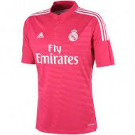 CAMISETA OF. R.MADRID FUCSIA