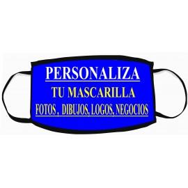 MASCARILLA PERSONALIZABLE NO SANITARIA