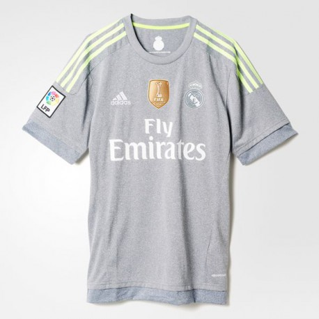 1188a80177eb2 CAMISETA OFICIAL REAL MADRID GRIS