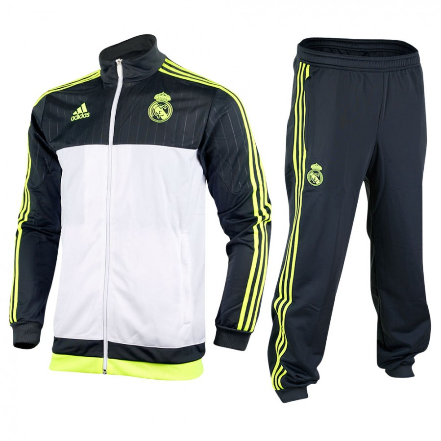 CHANDAL OF. REAL MADRID GRIS-BLANCO 163430f3762e2
