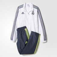 CHANDAL OF.  ADIDAS REAL MADRID CLIMACOOL  NIÑO BLANCO