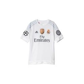 CAMISETA OF. REAL MADRID NIÑO CHAMPIONS 15-16