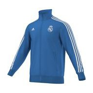CHAQUETA OF. REAL MADRID AZUL 15-16