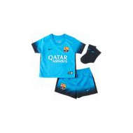 PACK OF. FC.BARCELONA TURQUESA BEBE 15-16